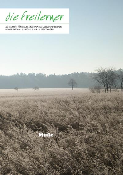 Heft Nr. 69 – Muße