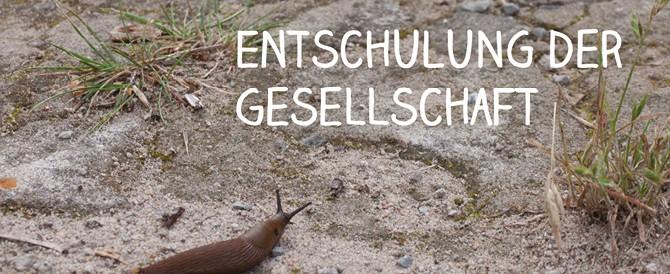 """Ivan Illichs """"Deschooling society"""" verstehen oder mißverstehen?"""