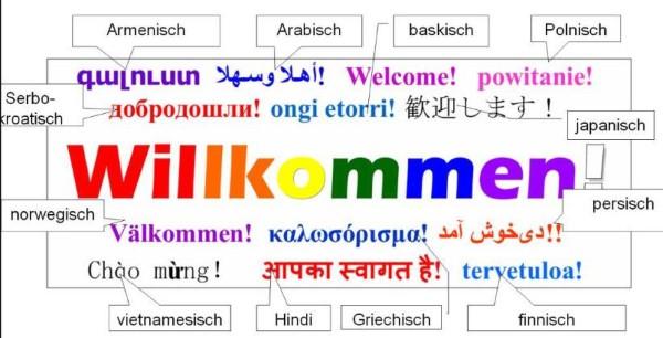 Willkommen Vielfalt